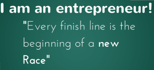 Entreprenuer finish line