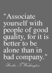 associate with good