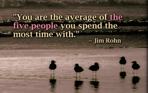 inspirational-quote-average-of-five-people