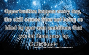 KK Quote opportunity