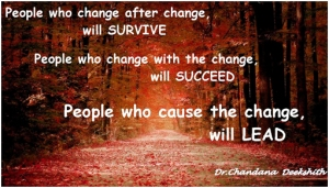 Change to succeed