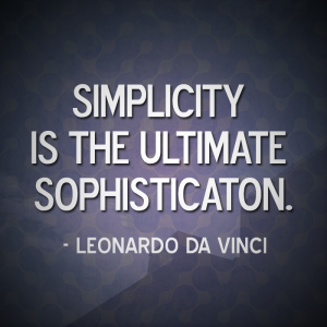 SIMPLICITY-LEONARDODAVINCI-QuoteArt