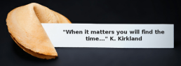 When it matters quote